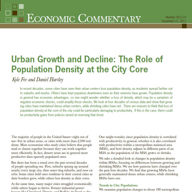 urban growth and decline essay 7the problems and challenges posed by the rapid urban growth in nigeria are   endemic in urban areas as a result of the gradual decline of traditional social.