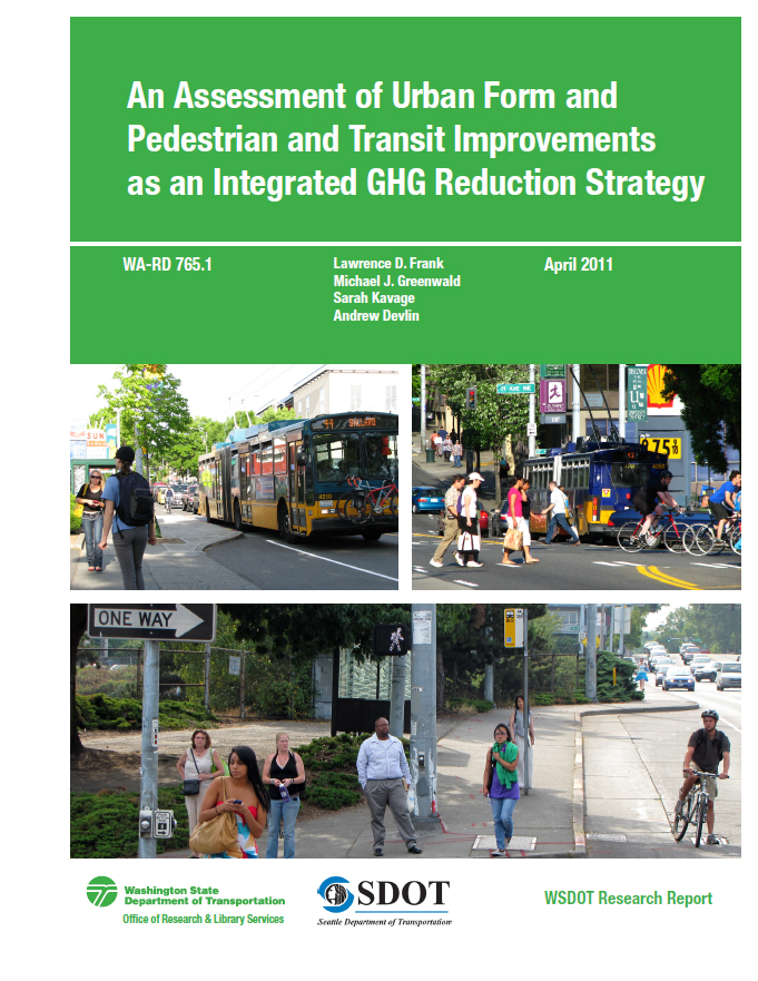 An Assessment Of Urban Form And Pedestrian And Transit