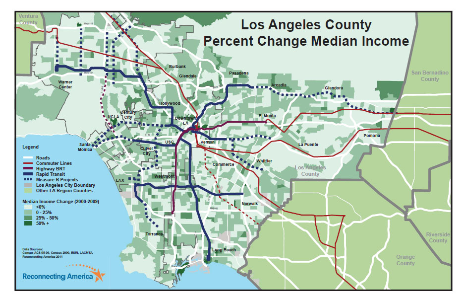 Los Angeles Equity Mapping Reconnecting America