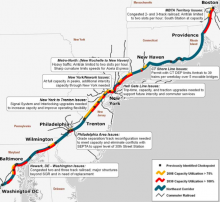 Northeast Corridor via the Transport Politic